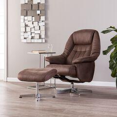 Bridger Reclining Chair and Ottoman,