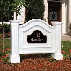 Nantucket Address Sign,