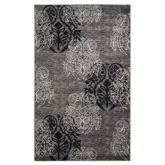 Milan Black/Grey 5'X8' Area Rug,