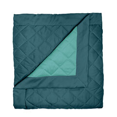 BH Studio Reversible Quilted Bedspread, PEACOCK TURQUOISE