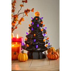 Ceramic Tabletop Halloween Tree,