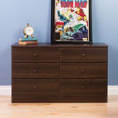 Astrid 6-Drawer Dresser,,