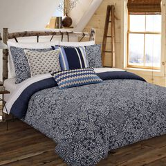 Cutwork Medallion Comforter Set,