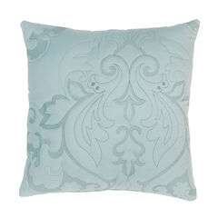 "Amelia 16"" Square Pillow, SEAGLASS"