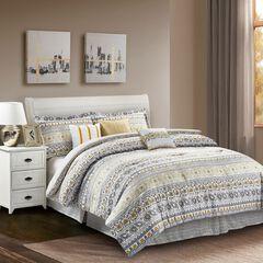Chloe Yellow 7-Piece Comforter Set,