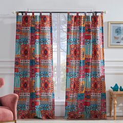 Indie Spice Curtain Panel Pair by Barefoot Bungalow,