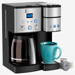 Cuisinart Coffee Maker and Single Serve Brewer, STAINLESS STEEL