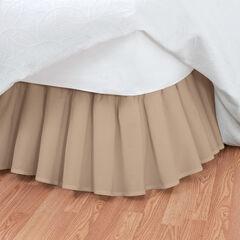 Magic Ruffle Bedskirt, MOCHA