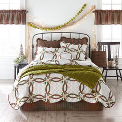 Holly Christmas 5-Pc. Quilt Set,