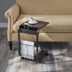 Rolling Side Table,
