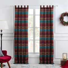 Tucson Coffee Curtain Panel Pair by Barefoot Bungalow,