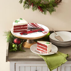 Retro Red Truck Cake Stand, RED