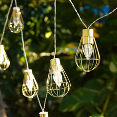 Edison Cage String Lights,