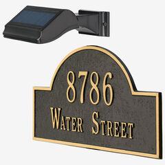 Illuminator Solar Address Lamp ,