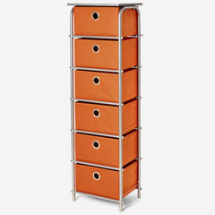 Eve 6-Drawer Tall Soft Storage,
