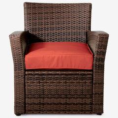 Santiago Chair, BROWN GERANIUM