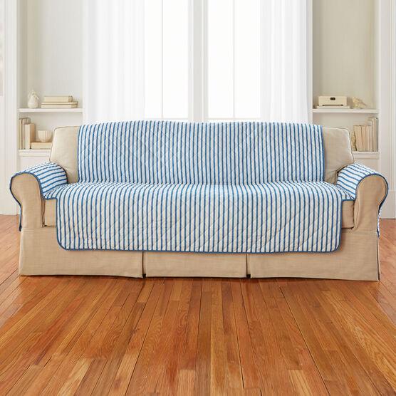 Striped Sofa Protector,