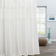 Kate Cotton Tie-Top Curtain,