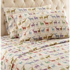 Micro Flannel® Print Sheet Set,