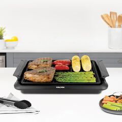 Black Electric Indoor Grill ,