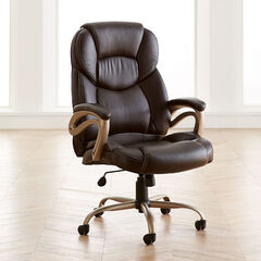 Big and Tall Memory Foam Office Chair,