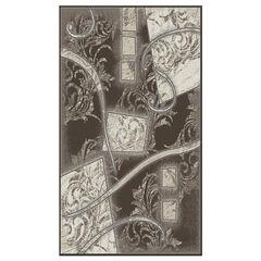 Jewel Brown/Cream 5' x 8' Area Rug,