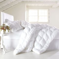 200-TC Cotton Puff Comforter, Mattress Pad, and Pillows,