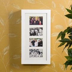 Photo Display Wall-Mount Jewelry Armoire,