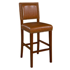 "Brook Bar Stool 30""H, BROWN CARAMEL"