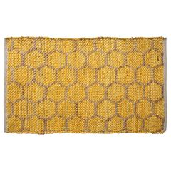 Beehive Modern Collection Area Rug,