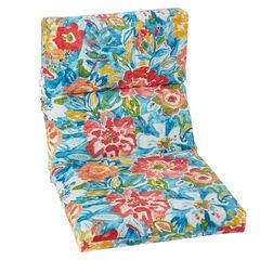 Universal Chair Cushion, POPPY BLUE
