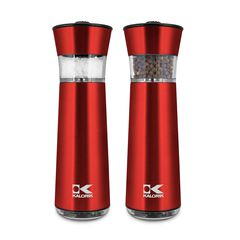 Kalorik Electric Gravity-Activated Salt and Pepper Mills,