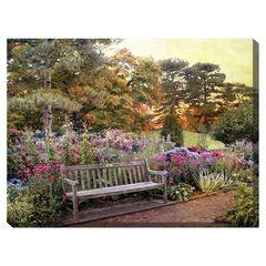 Garden Delight Outdoor Canvas Art,
