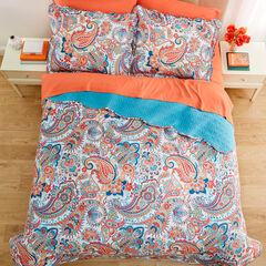 BH Studio Paisley 3-Pc. Microfiber Quilt Set, PEACOCK MULTI