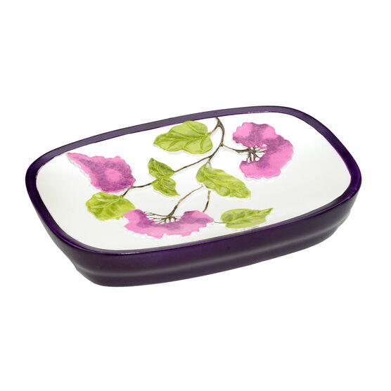 Jasmin Soap Dish, PLUM