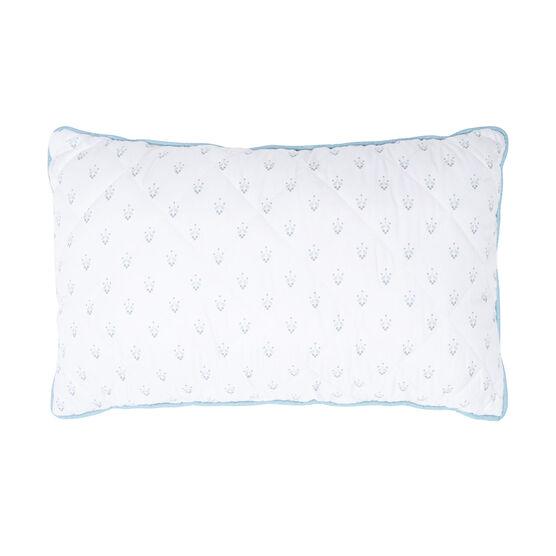 Daphine Floral Lumbar Pillow, IVORY