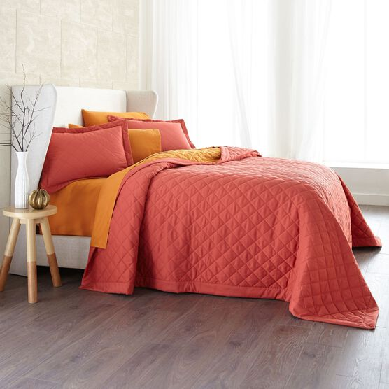 BrylaneHome® Studio Reversible Quilted Bedspread,