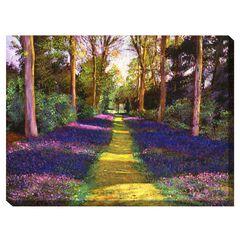 Azalea Park Outdoor Canvas Art,