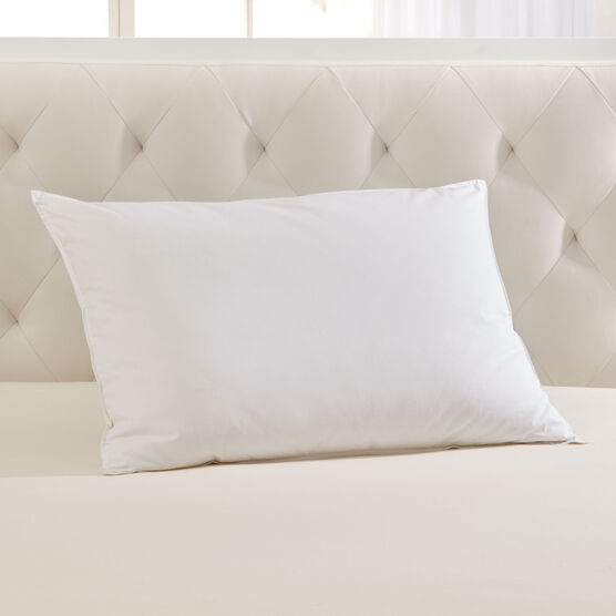 Firm Down-Feel Feather Pillow ,