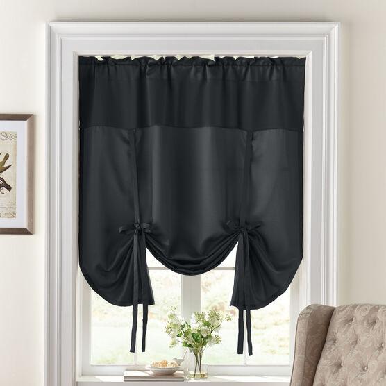 BH Studio Room-Darkening Tie-Up Shade,