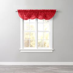 BH Studio Sheer Voile Toga Valance, RUBY