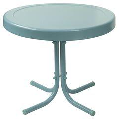 Retro Metal Side Table,