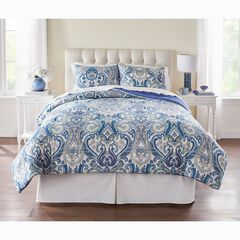 BH Studio 3-Pc. Microfiber Comforter Set,
