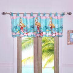 Mermaid Window Valance ,
