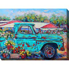 Market Day Outdoor Wall Art,
