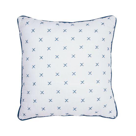 Brooklyn Decorative Pillow, WHITE
