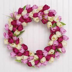 Tulip Wreath,