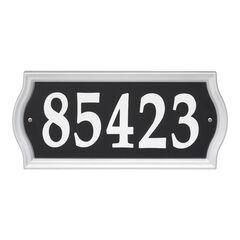 Nite Bright Ashland Reflective Address Numbers Signs,