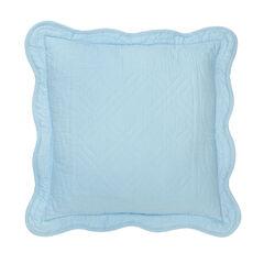 "Florence 16"" Square Pillow, SKY BLUE"