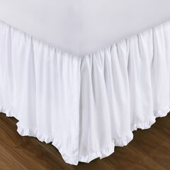 """Greenland Home Fashions Burlap Bed Skirt 15"""","""